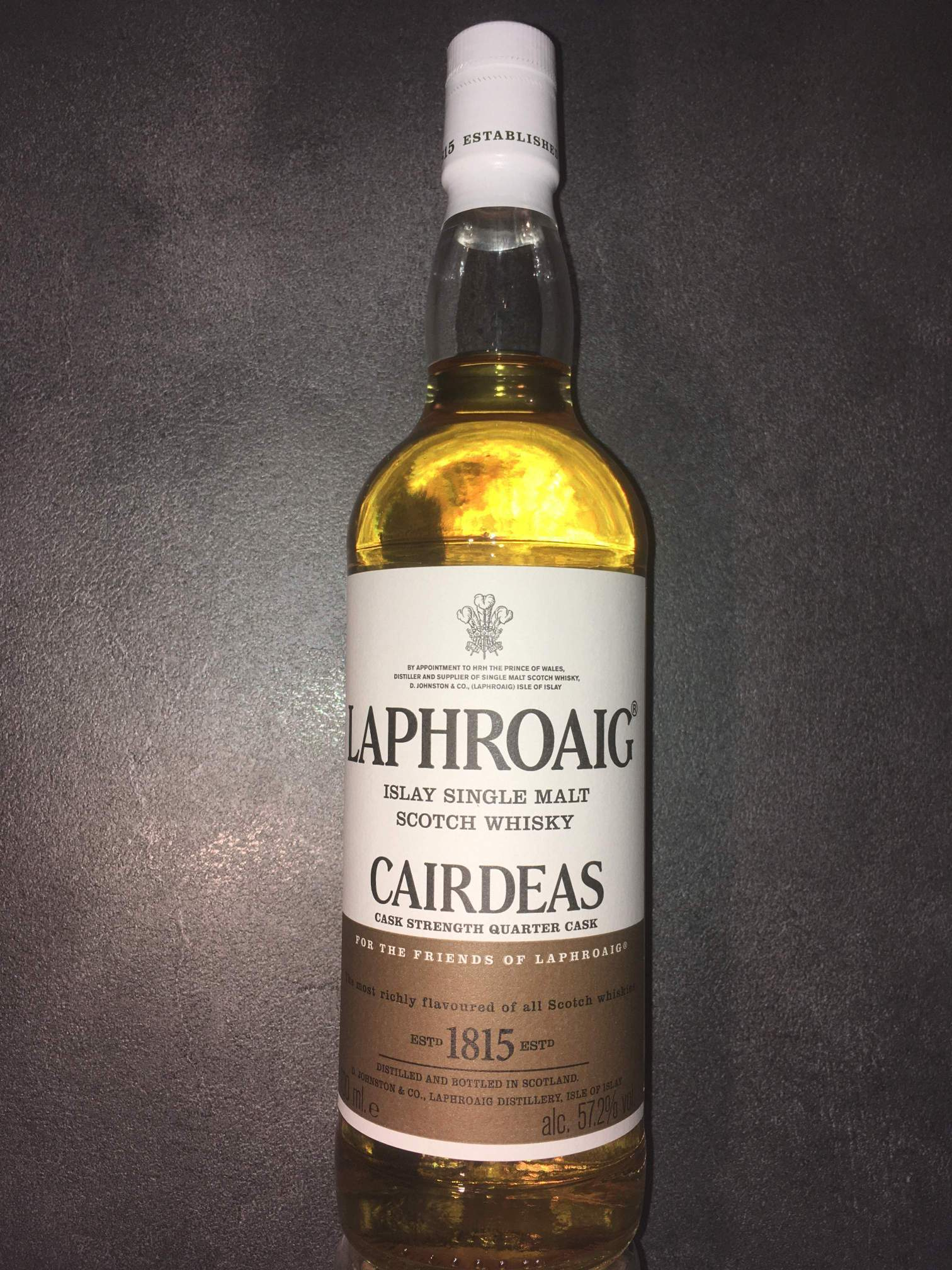 Laphroaig Cairdeas 2017 - Feis Ile 2017 - Quarter Cask - UK-Bottling